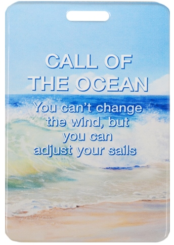 "Чехол для карточек ""Call of the Ocean"""