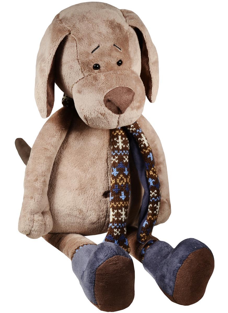 Мягкая игрушка Пёс Барбоська в уггах (30 см)