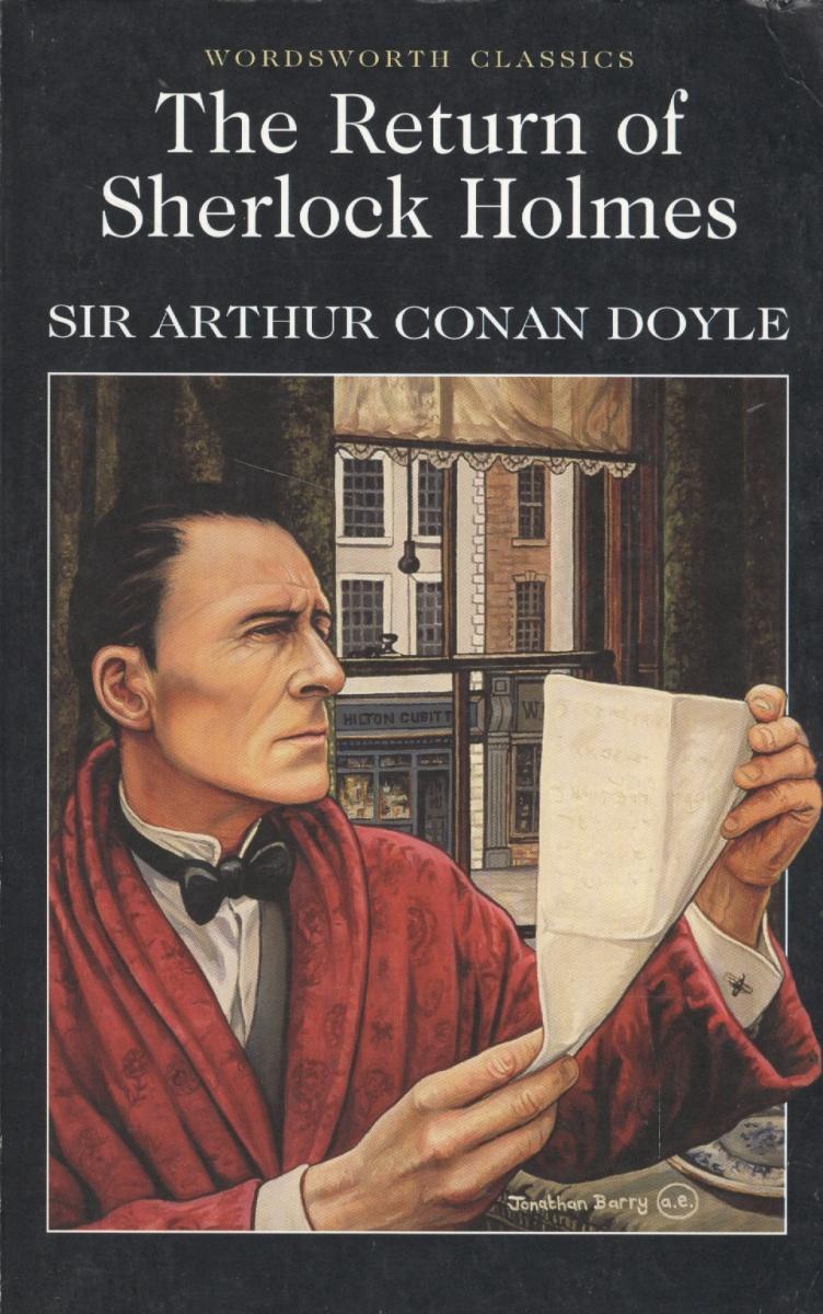 Doyle A. Doyle The return Sherlock Holmes arthur conan doyle through the magic door