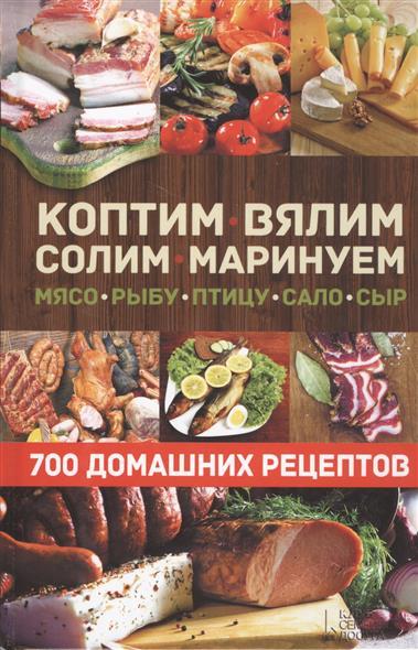 Андреев В. (сост.) Коптим, вялим, солим, маринуем мясо, рыбу, птицу, сало, сыр. 700 домашних рецептов