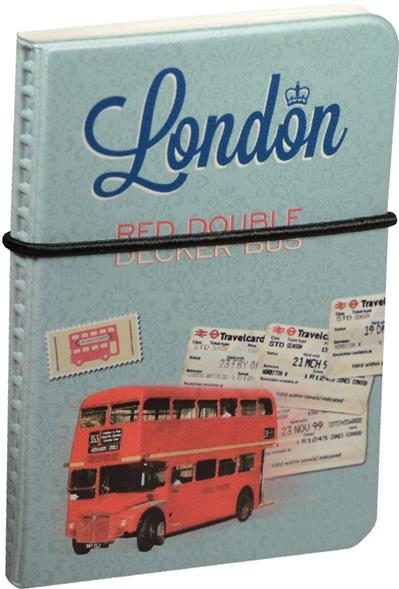 "Визитница ""London: Red double decker bus"""