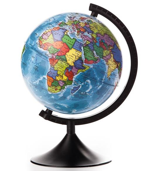 Глобус политический, D21см