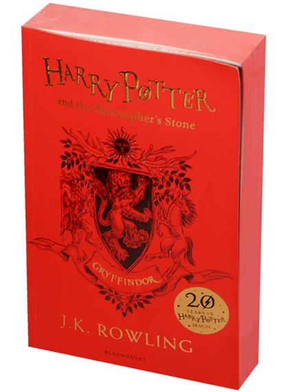 Rowling J.K. Harry Potter and the Philosopher's Stone - Gryffindor Edition Paperback harry potter and the half blood prince
