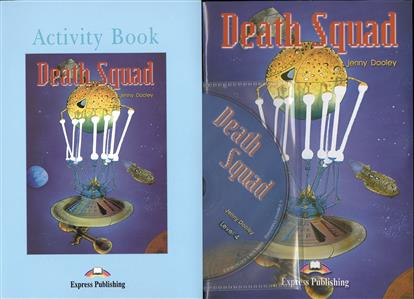 Dooley J. Death Squad. Reader (+ Activity Book + Audio CD). Книга для чтения my snowman activity sticker book