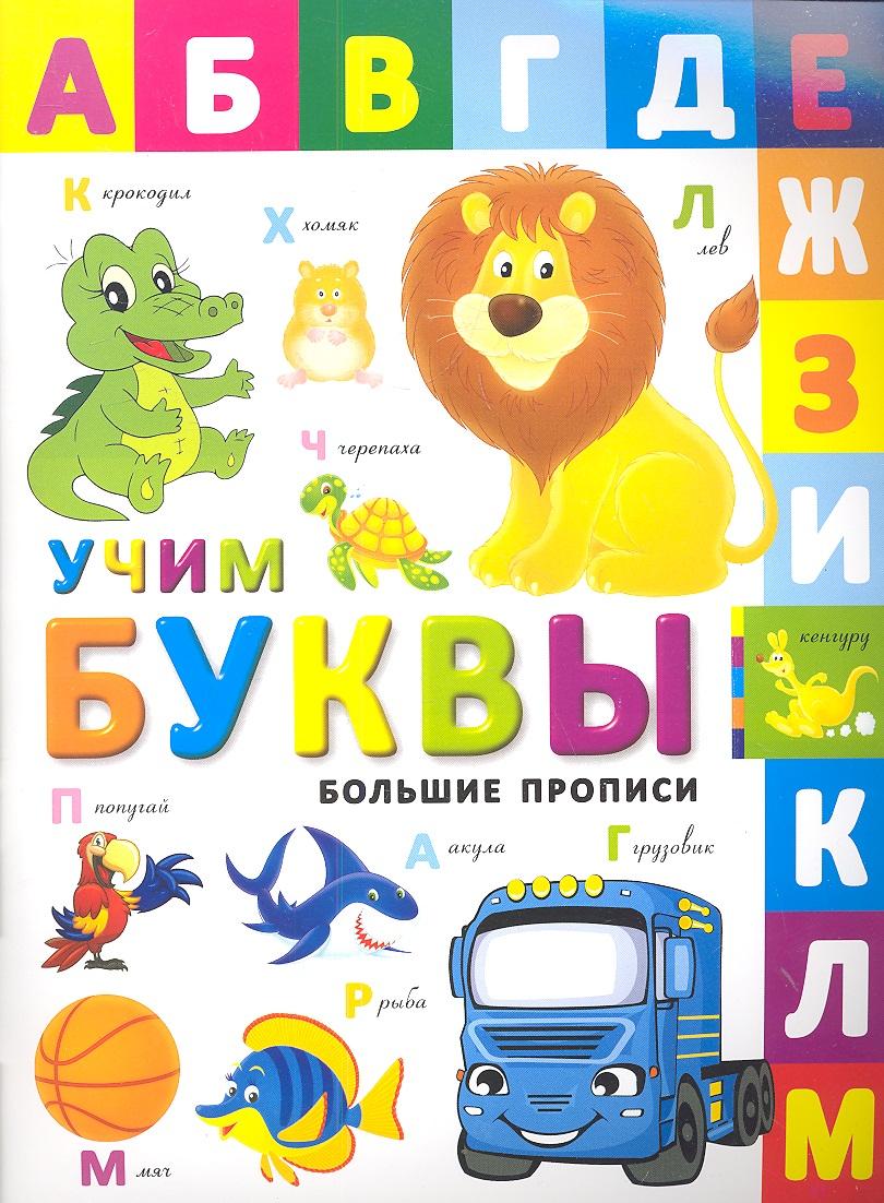 Большие прописи. Учим буквы ISBN: 9785222207222