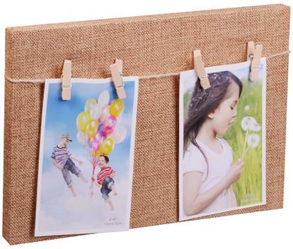 Рамка для двух фотографий с прищепками (30х20)