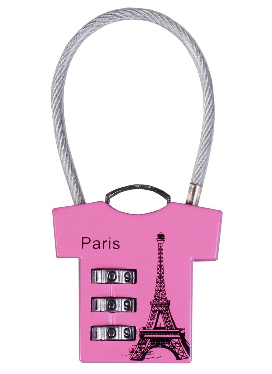 """Замочек кодовый футболка """"Париж"""""""
