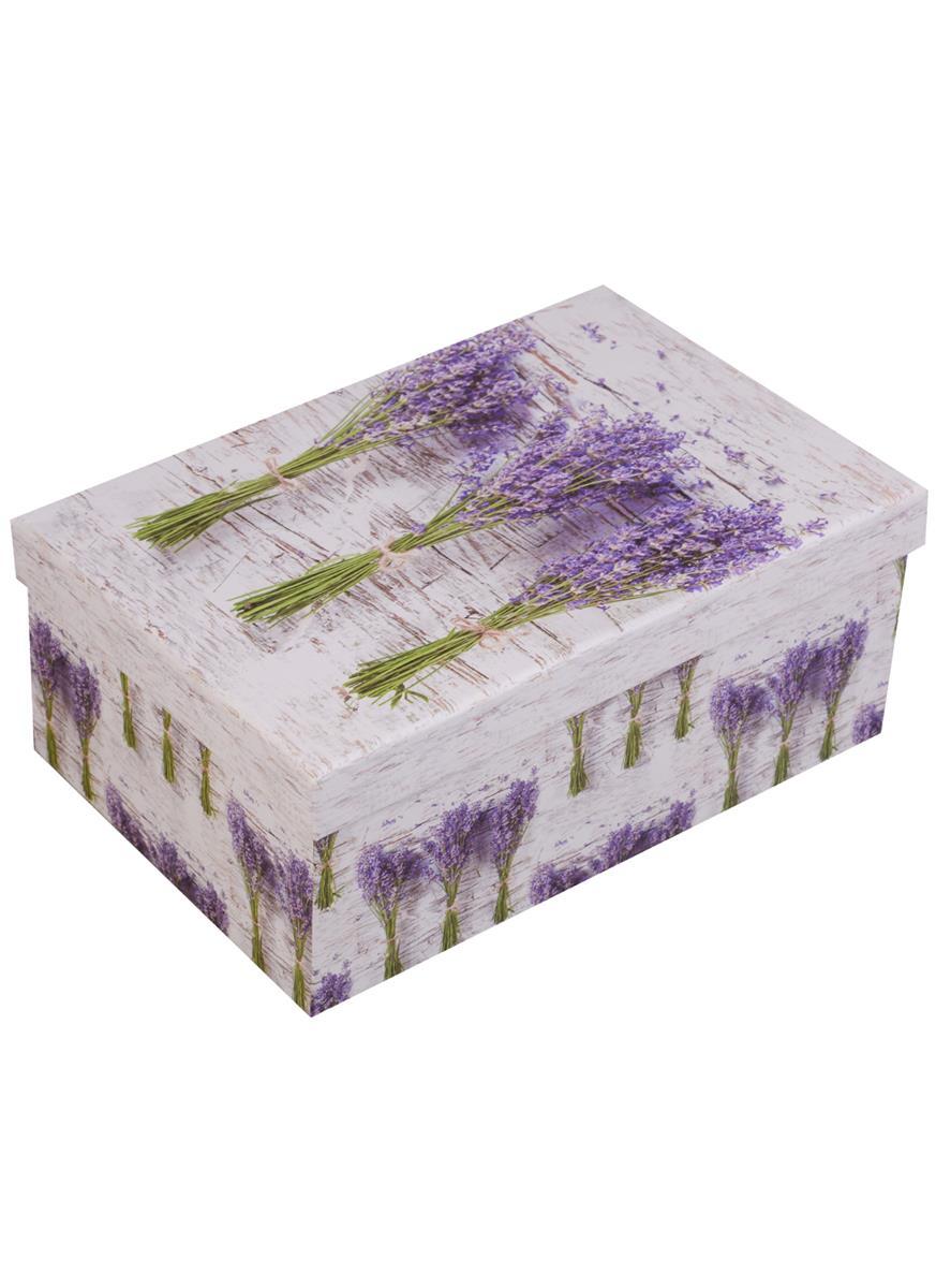 """Коробка подарочная """"Лавандовые букеты"""""""