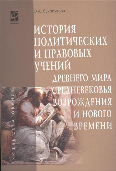 История политических и правовых учений Древнего мира, Средневековья, Возрождения и Нового времени