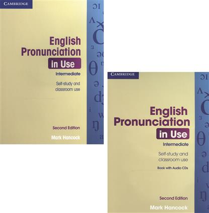 Hancock M. English Pronunciation in Use. Intermediate. Self-Study and Classroom Use (+папка/4CD) profession english in use medicine купить онлайн