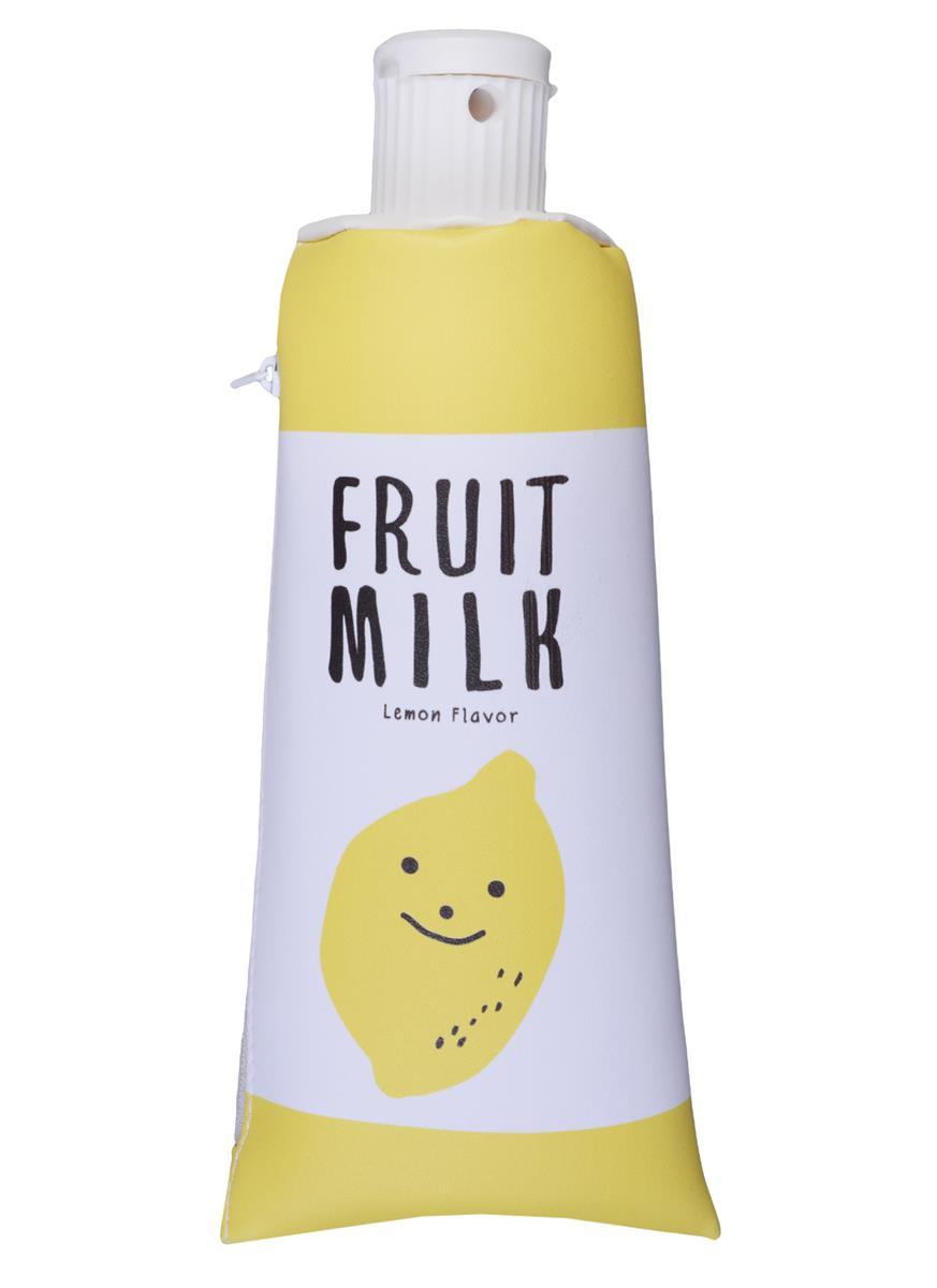 Пенал на молнии Тюбик Fruit Milk (ПВХ) (21х7)
