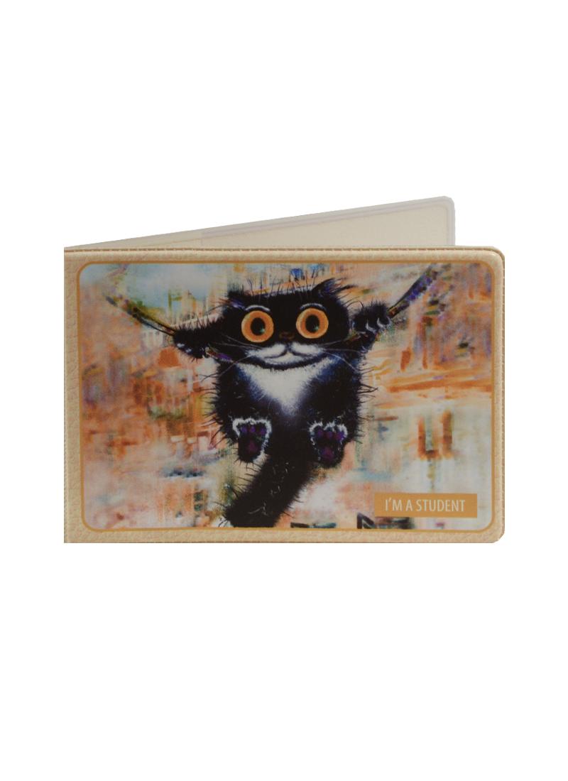 Обложка для студенческого Cat in the City (Качели)