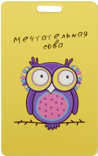 """Чехол для карточек """"Мечтательная сова"""""""