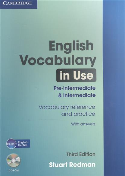 Redman S. English Vocabulary in Use. Pre-Intermediate and Intermediate. Third Edition (+CD) profession english in use medicine купить онлайн