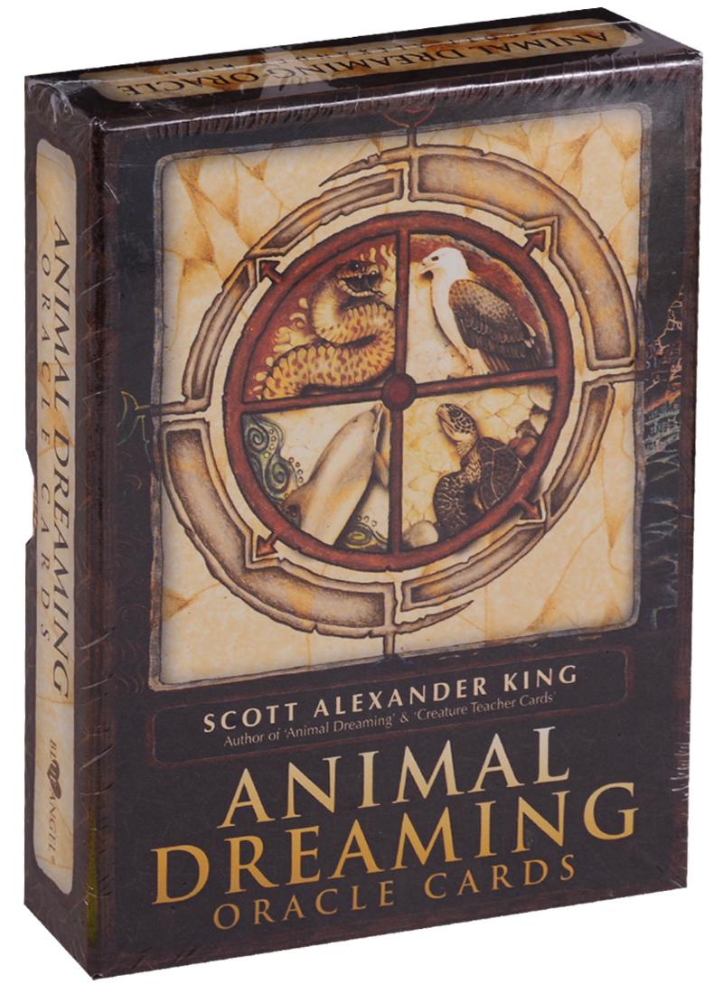 King S. Animal Dreaming Cards / Сны животных оракул (карты + инструкция на английском языке) магические послания богинь 44 карты инструкция
