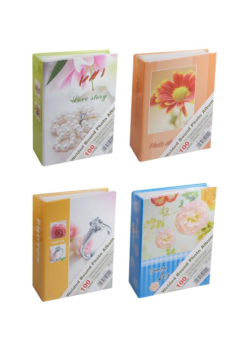 Фотоальбом Цветы в ассортименте (10х15) (100 фото) (твердая обложка) (M020)