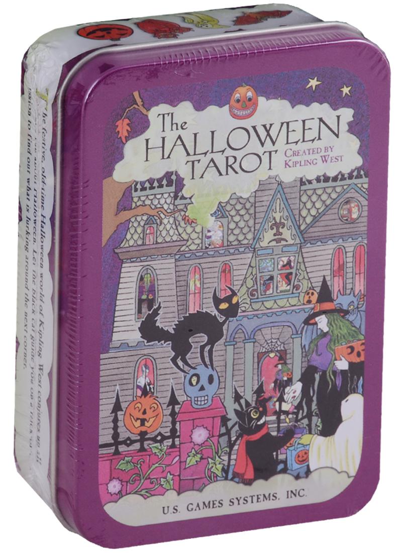 The Halloween Tarot (карты на английском языке в жестяной коробке)