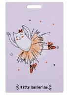 Чехол для карточек Kitty ballerina розовый