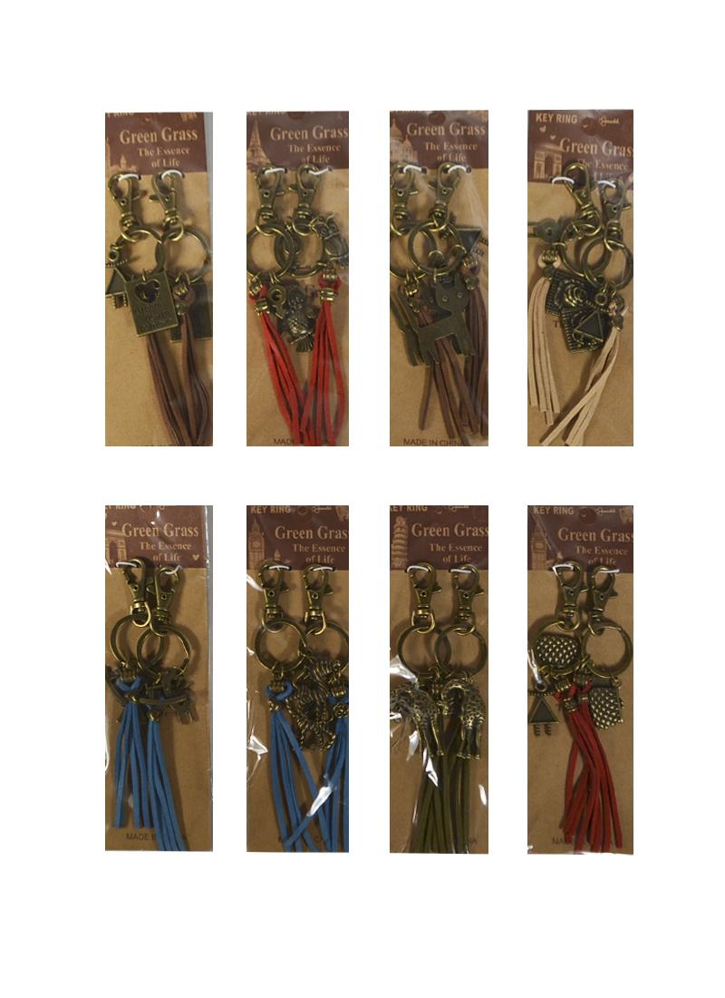 Набор из 2 брелков для ключей (8 видов) (723809) (Бурлаков)