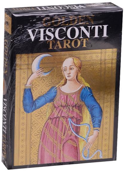 Таро Golden Visconti (на англ. яз.) мужская сумка visconti merlin ml28 ml28 tan