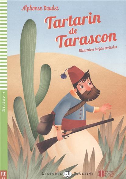 Tartarin de Tarascon. Niveau 4 (+CD)