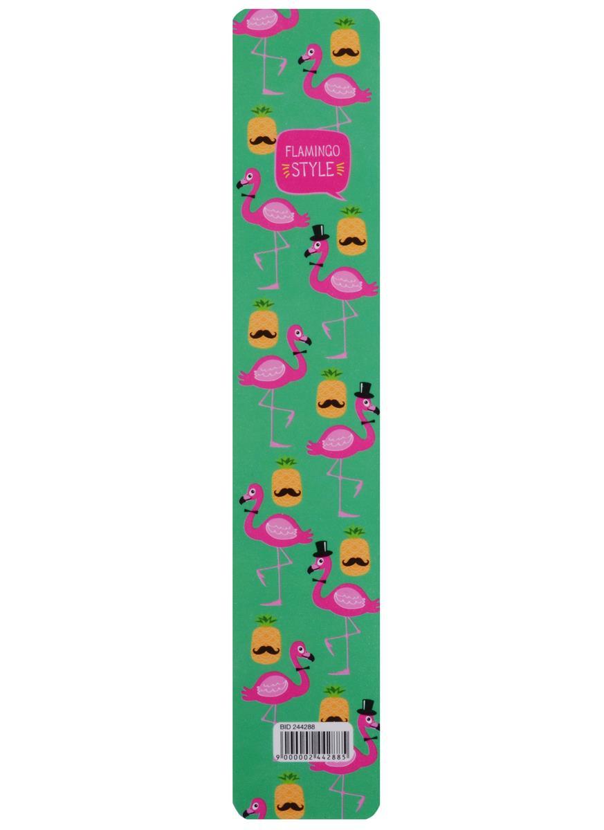 """Закладка для книг пластиковая """"Flamingo style"""""""