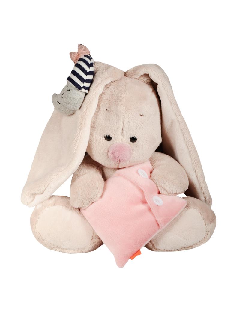 Мягкая игрушка Зайка Ми  с подушкой и месяцем (15 см) (SidX - 165)