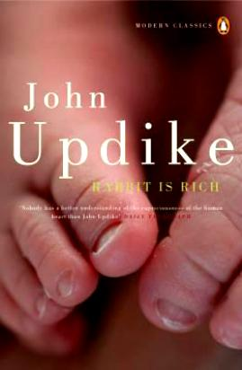 Updike J. Rabbit is Rich rich is a religion