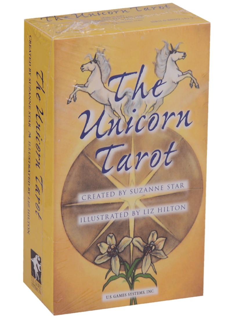 Hilton L., Star S. Unicorn Tarot / Таро Единорога (карты + инструкция на английском языке) магические послания богинь 44 карты инструкция