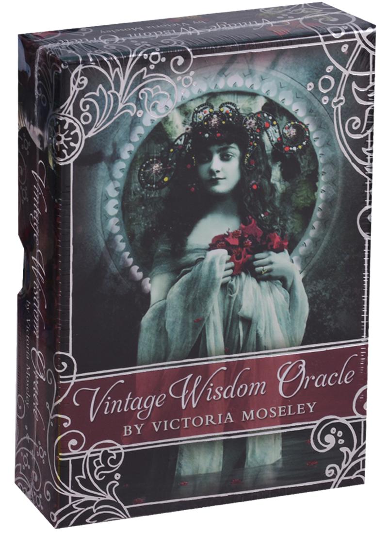 Vintage Wisdom Oracl / Оракул Мудрости Винтажный (карты + инструкция на английском языке) магические послания богинь 44 карты инструкция