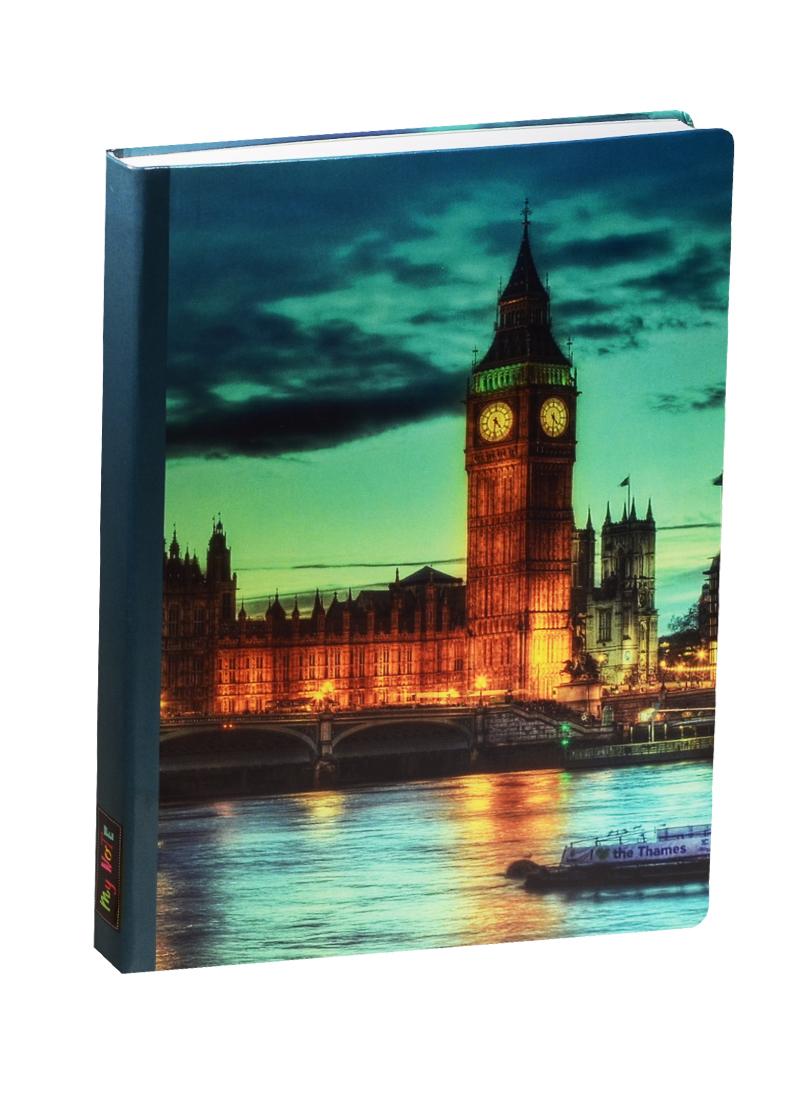 Блокнот London Вечерний город