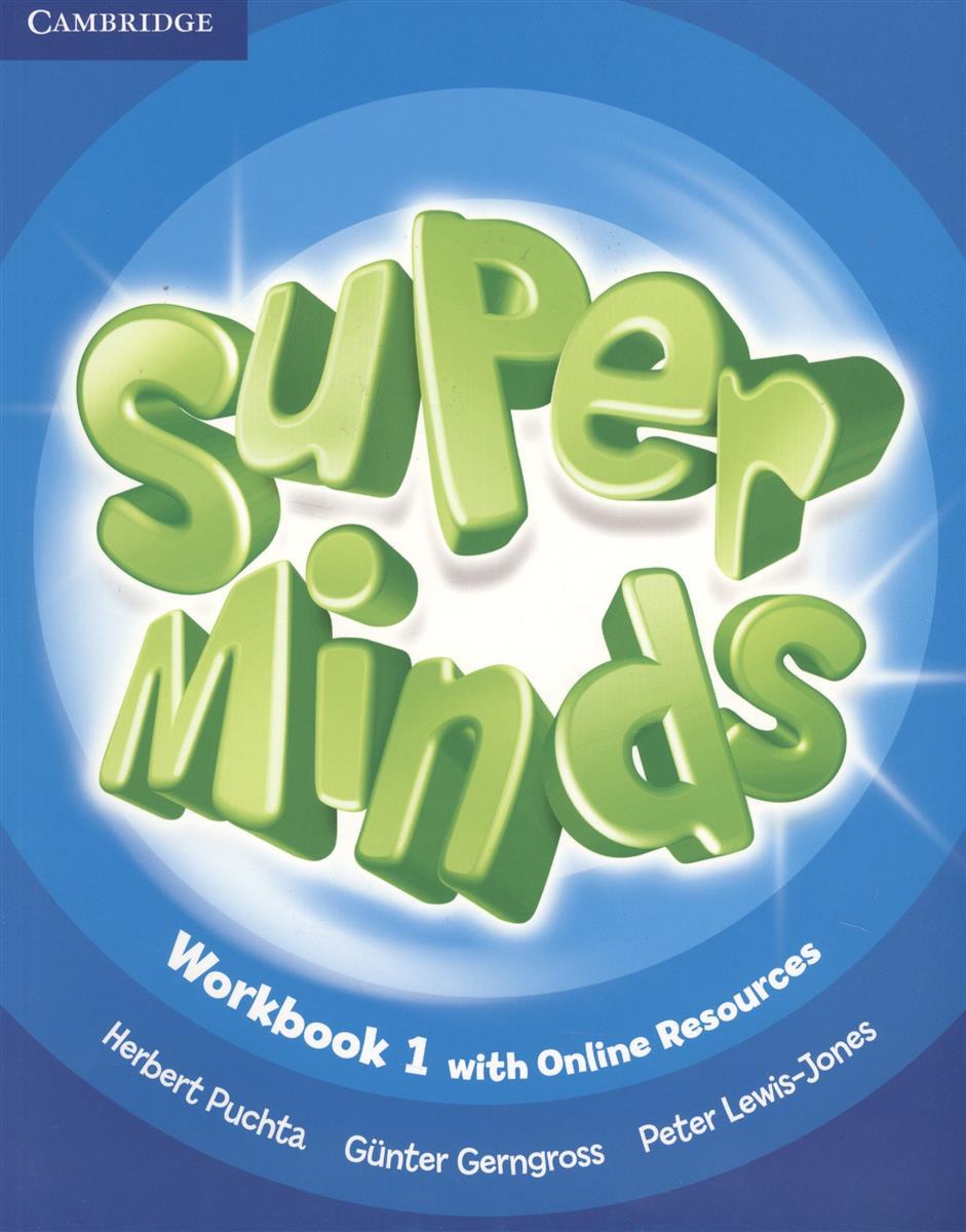 Gerngross G., Puchta H., Lewis-Jone P. Super Minds. Level 1. Workbook (книга на английском языке) puchta h gerngross g devitt m get on stage cd dvd