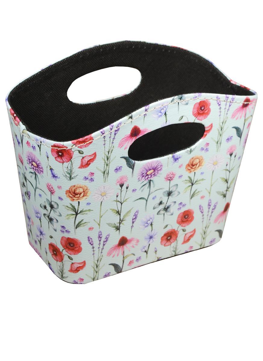 Корзинка для мелочей Полевые цветы (18х16)