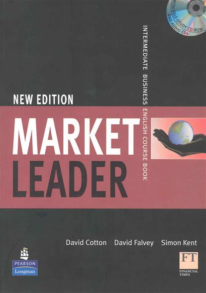 Cotton D., Falvey D., Kent S. Market Leader New Edition Intermediate Course Book market leader extra elementary coursebook dvd rom