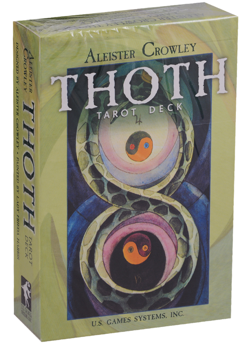 Crowley A. Thoth Tarot desk (карты + инструкция на английском языке) the classic tarot карты