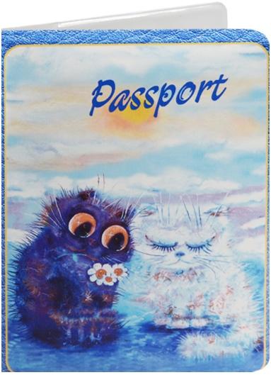 """Обложка для паспорта """"Cats in the City: Давай мириться"""""""