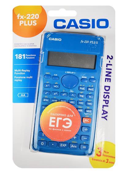 Калькулятор 10+2 разрядный научный 181 функция, CASIO