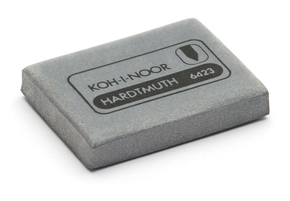 Ластик-клячка для ч/гр.каранд. и угля, серый, Чехия, KOH-I-NOOR