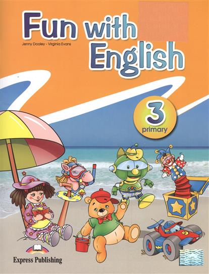 Dooley J., Evans V. Fun with english. Primary 3 english with crosswords 3 dvdrom
