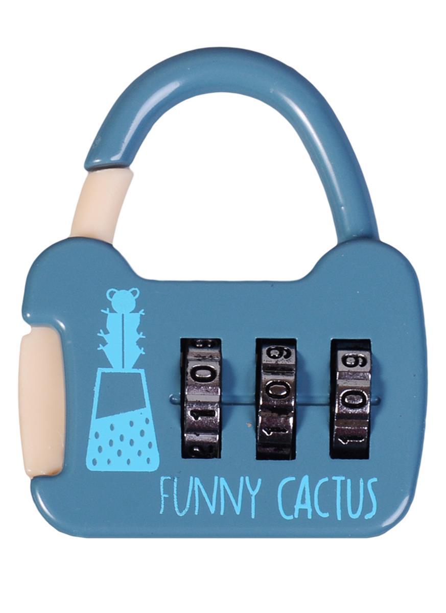 """Замочек кодовый """"Funny cactus"""""""