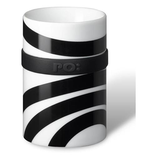 """Малая термо кружка серии """"Ring"""" Сонар черно-белая (651) (Файн Дизайн)"""