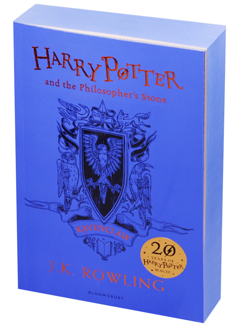цена Rowling J. Harry Potter and the Philosopher's Stone - Ravenclaw Edition Paperback