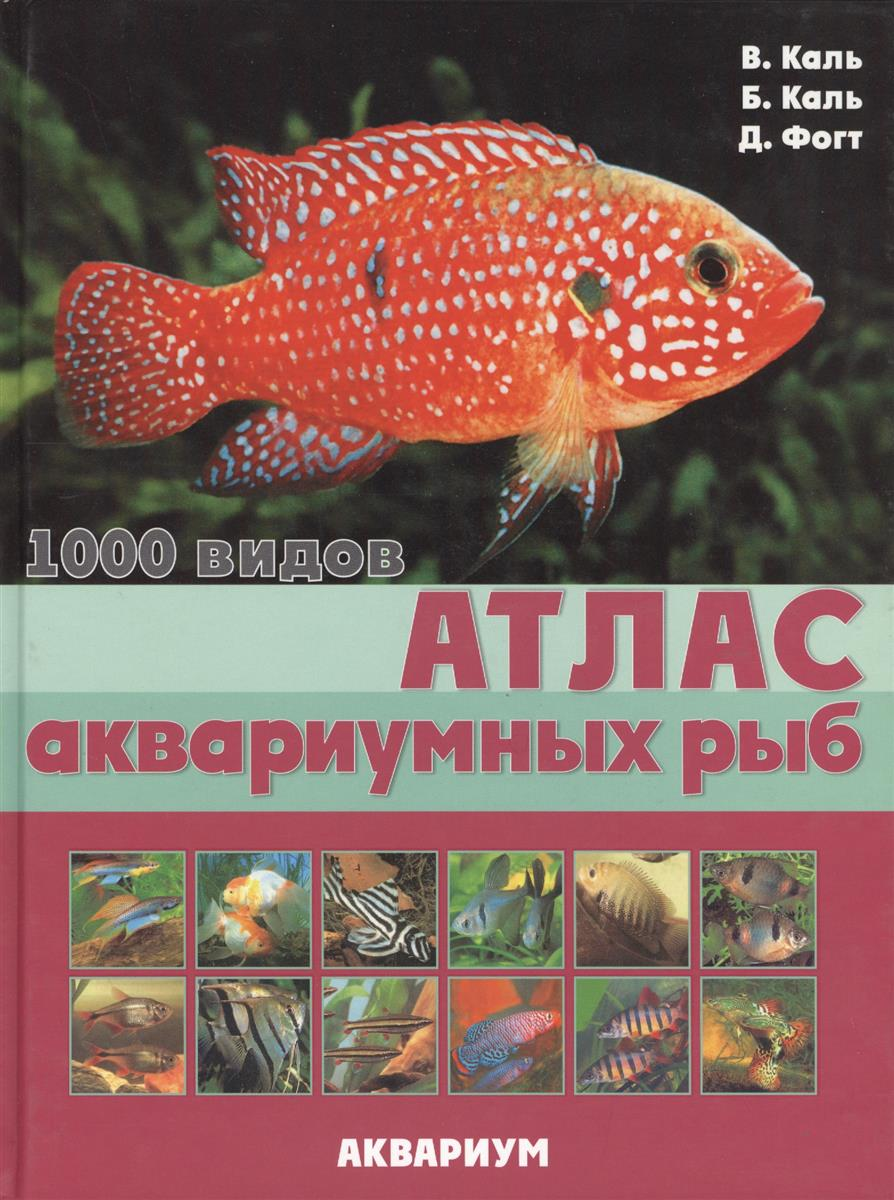 Каль В., Каль Б., Фогт Д. Атлас аквариумных рыб brunnen набор цветных карандашей fans of earth 12 цветов