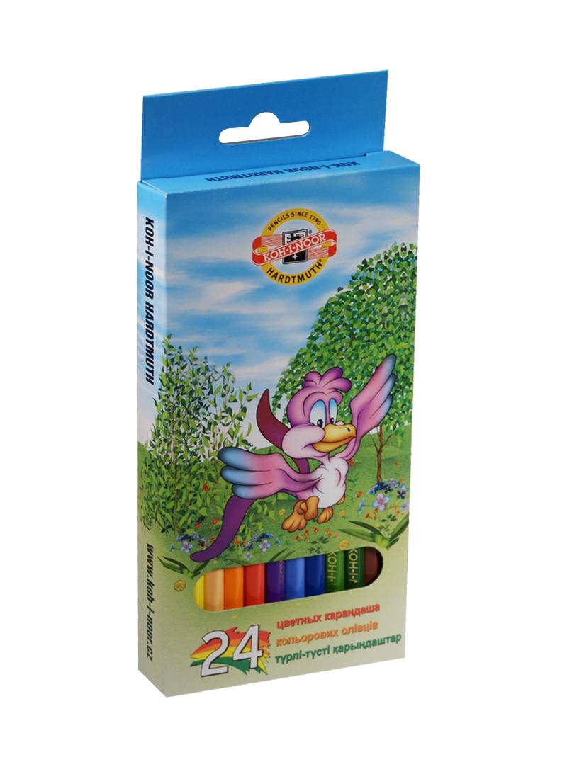 Карандаши цветные 24цв