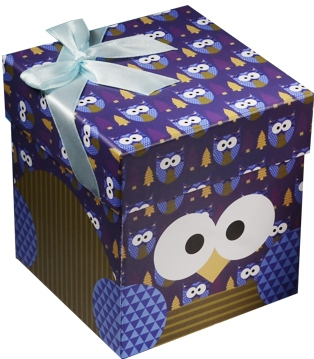 """Коробка подарочная """"Совы.Owls"""""""