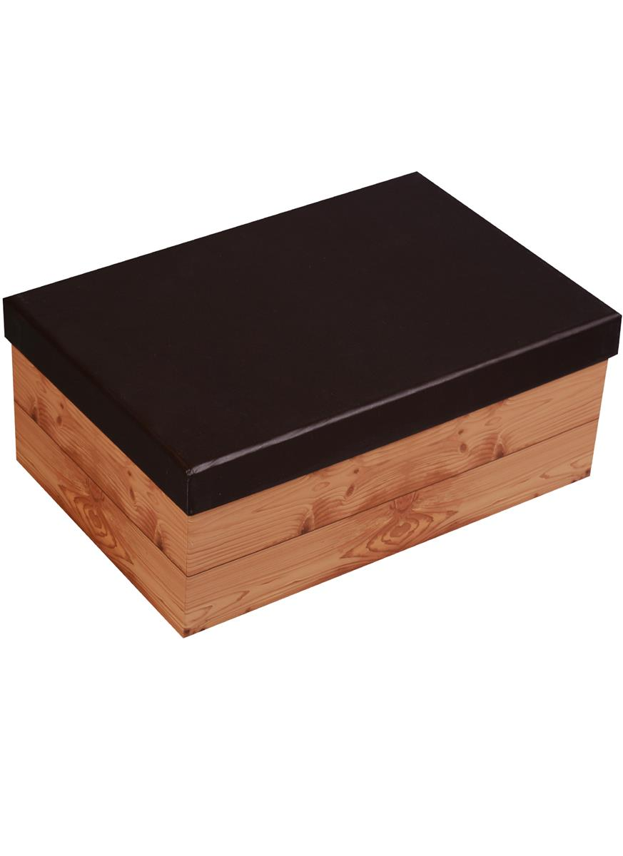 "Коробка подарочная ""Black&Wood"", 19*12*8.5см"