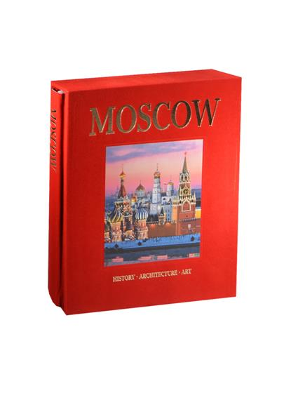 Альбом Москва / Moscow: History. Architecture. Art