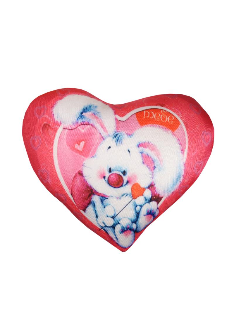 Игрушка-подушка антистресс Сердце (18см)