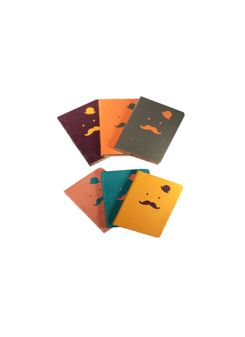 Блокнот цветной Усы и Шляпа (LB36K40-0433) (12103200) (128 страниц) (12х16,8) (Небесный дракон)