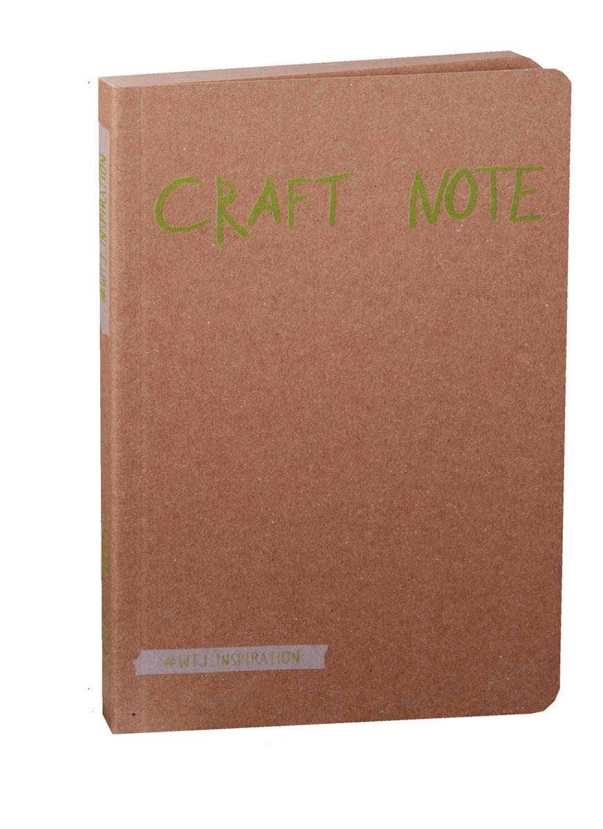 Craft Note Экоблокнот для творчества с крафтовыми страницами (мягкая обложка)